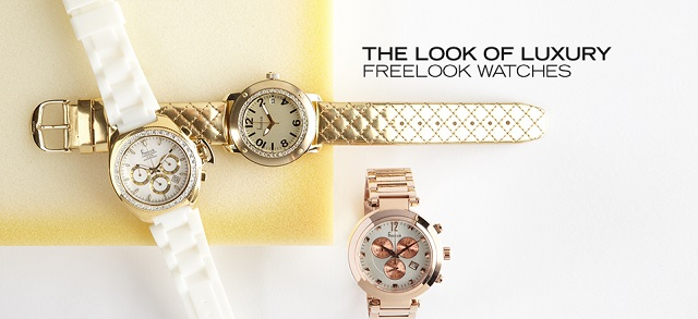 The Look of Luxury Freelook Watches at MYHABIT