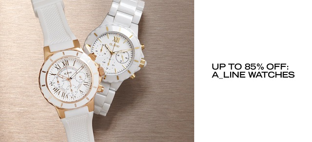 Up to 85 Off a_line Watches at MYHABIT