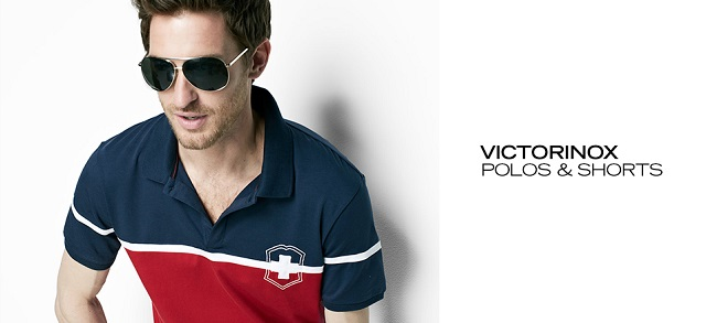 Victorinox Polos & Shorts at MYHABIT