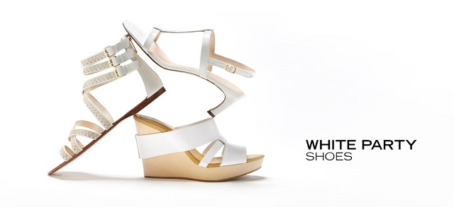 White Party Shoes at MYHABIT