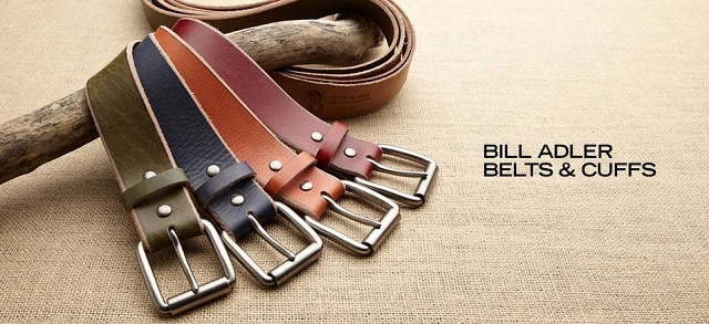 Bill Adler Belts & Cuffs at MYHABIT