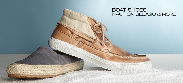 Boat Shoes Nautica, Sebago & More at MYHABIT