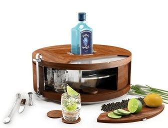 Bombay Sapphire East Gin Wheel