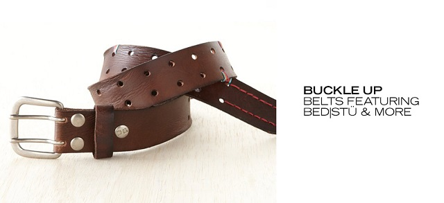 Buckle Up Belts ft. BedStü & More at MYHABIT