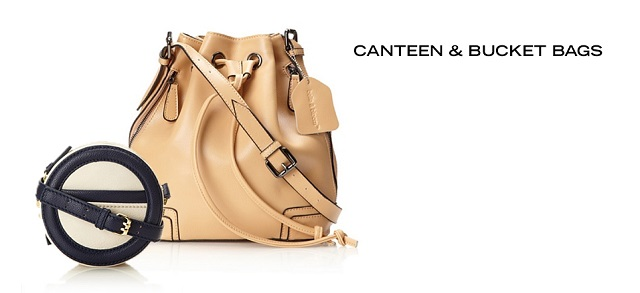 Canteen & Bucket Bags at MYHABIT