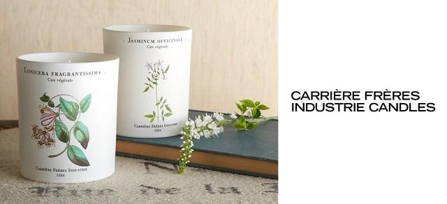 Carrière Frères Industrie Candles at MYHABIT