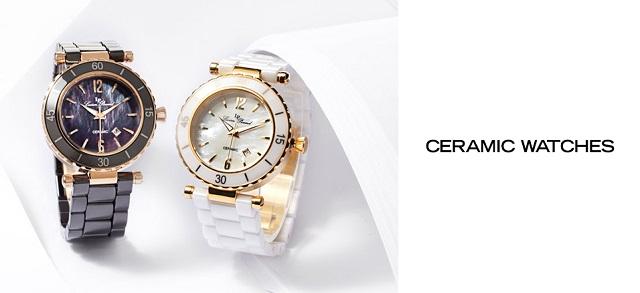 Ceramic Watches at MYHABIT