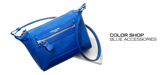 Color Shop Blue Accessories at MYHABIT