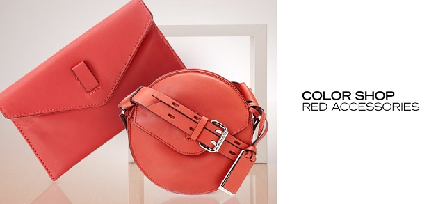 Color Shop Red Accessories at MYHABIT