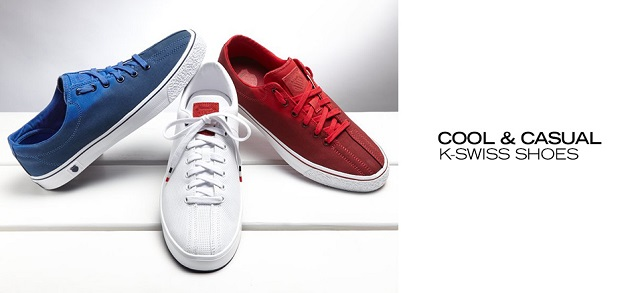 Cool & Casual K-Swiss Shoes at MYHABIT