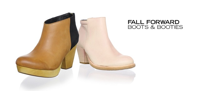 Fall Forward Boots & Booties at MYHABIT