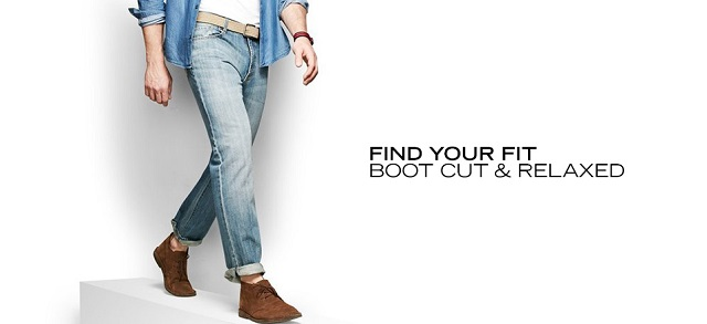 Find Your Fit Bootcut & Relaxed at MYHABIT