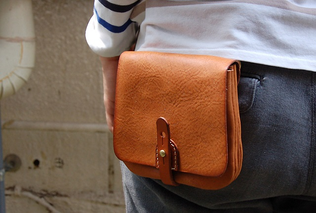 HERZ Leather Belt Pouch