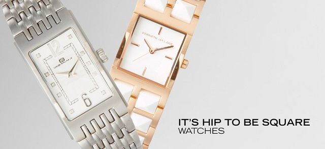 It's Hip to be Square Watches at MYHABIT