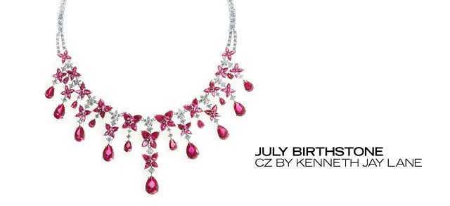 July Birthstone CZ by Kenneth Jay Lane at MYHABIT