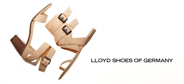 Lloyd Shoes of Germany at MYHABIT