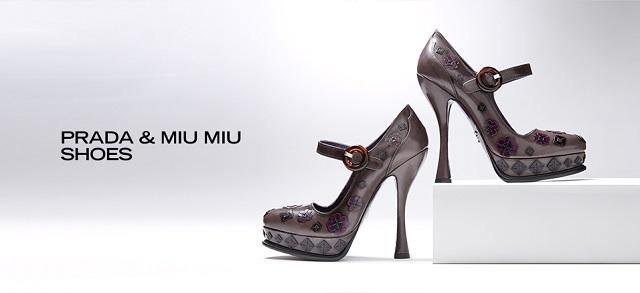 Prada & Miu Miu Shoes at MYHABIT