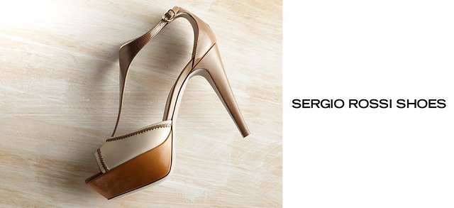 Sergio Rossi Shoes at MYHABIT
