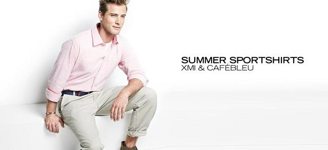 Summer Sportshirts XMI & Cafébleu at MYHABIT
