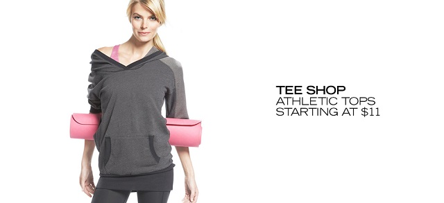Tee Shop Athletic Tops Starting at $11 at MYHABIT