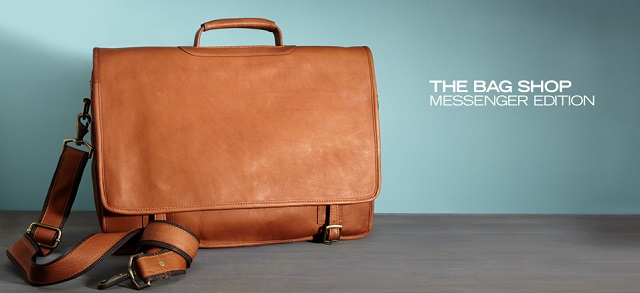 The Bag Shop Messenger Edition at MYHABIT