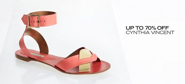 Up to 70 Off Cynthia Vincent at MYHABIT