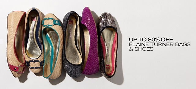 Up to 80 Off Elaine Turner Bags & Shoes at MYHABIT