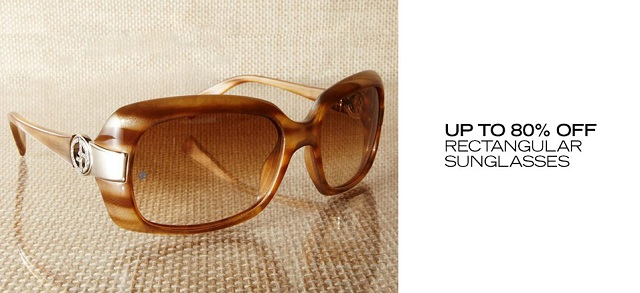 Up to 80 Off Rectangular Sunglasses at MYHABIT