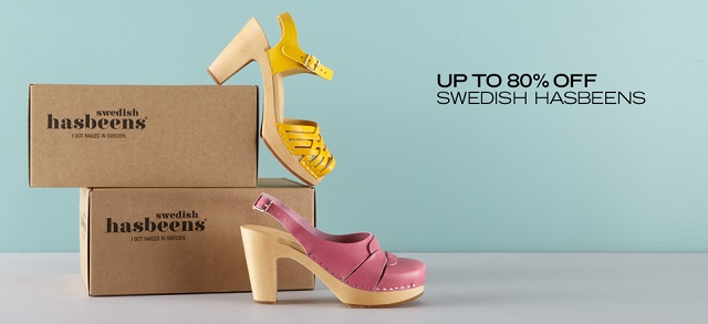 Up to 80 Off Swedish Hasbeens at MYHABIT