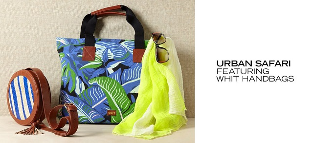 Urban Safari Ft. WHIT Handbags at MYHABIT