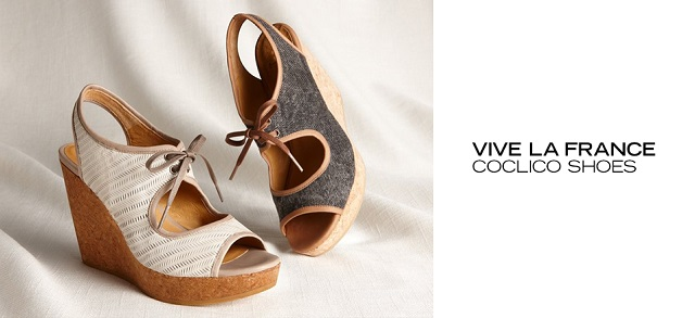 Vive la France Coclico Shoes at MYHABIT