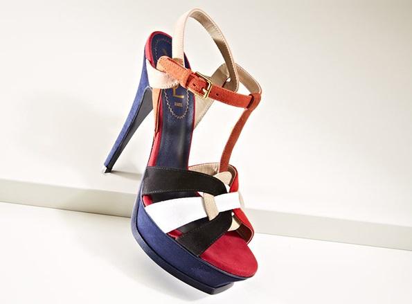 Yves Saint Laurent Women's Tribute T-Strap Sandal