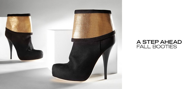 A Step Ahead Fall Booties at MYHABIT