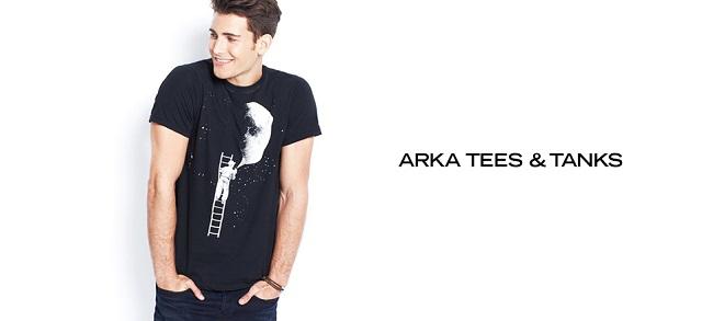 ARKA Tees & Tanks at MYHABIT