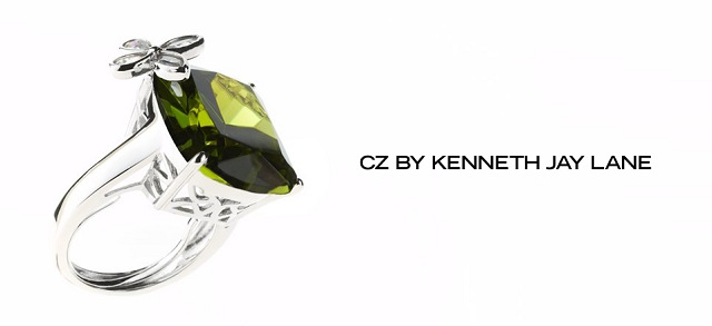 CZ by Kenneth Jay Lane at MYHABIT
