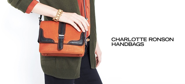 Charlotte Ronson Handbags at MYHABIT