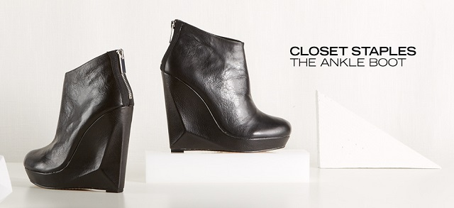Closet Staples The Ankle Boot at MYHABIT