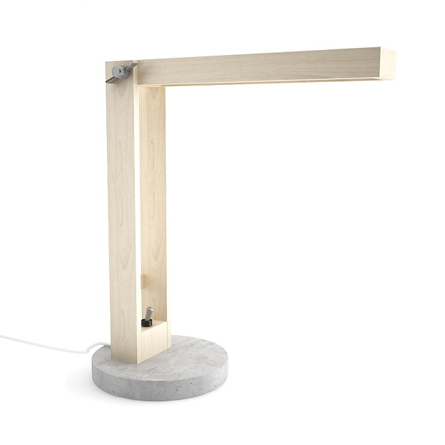 DIME design Wood and Concrete Lamp_2