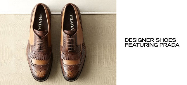 Designer Shoes ft. Prada at MYHABIT