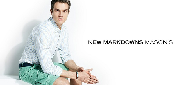 New Markdowns Mason's at MYHABIT