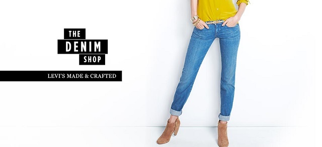 The Denim Shop Levi's Made & Crafted at MYHABIT