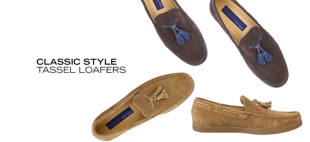 Classic Style Tassel Loafers at MYHABIT
