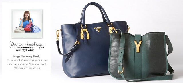Designer Handbags Picks from PurseBlog's Megs Mahoney Dusil at MYHABIT
