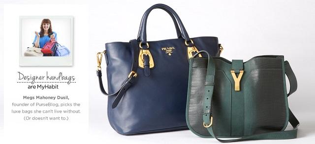 Designer Handbags Picks from PurseBlog's Megs Mahoney Dusil at MYHABIT