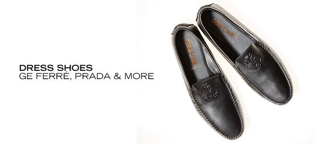 Dress Shoes GE Ferré, Prada & More at MYHABIT