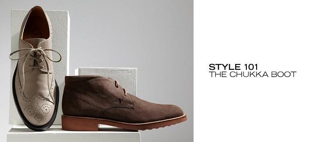Style 101 The Chukka Boot at MYHABIT