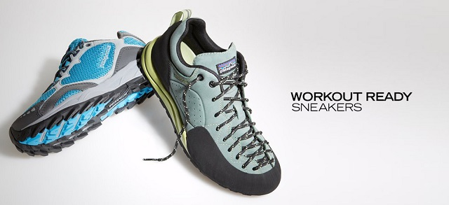 Workout Ready Sneakers at MYHABIT