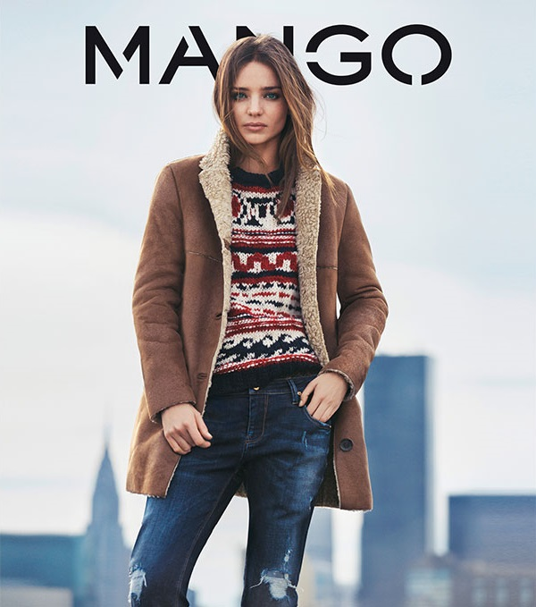 MANGO Winter 2013 Campaign by Miranda Kerr