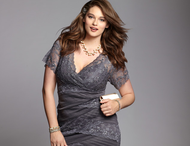 Plus Size Dresses by Adrianna Papell & Marina at MYHABIT