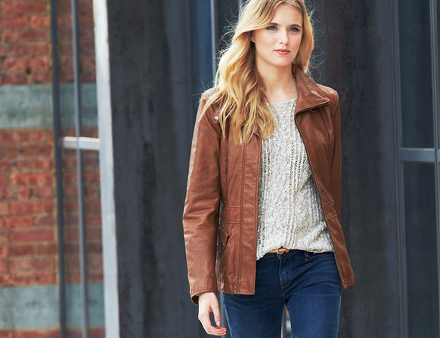 Street Chic Leather Jackets at MYHABIT